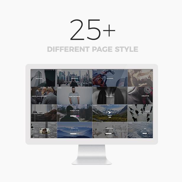 Universal - Smart Multi-Purpose WordPress Theme - 5