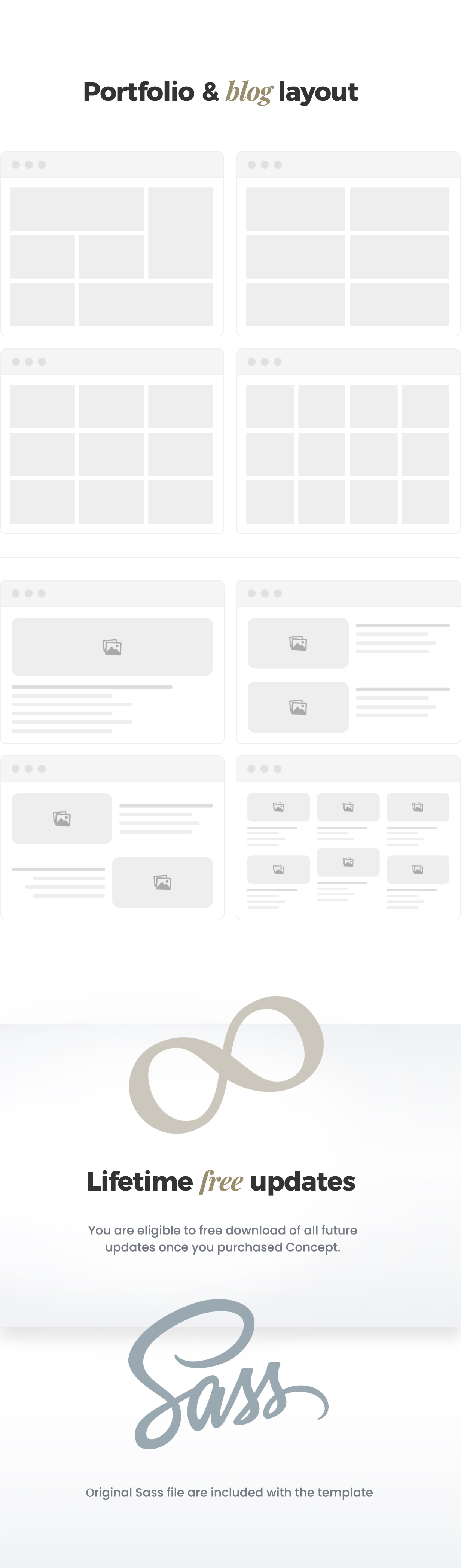Concept - Creative and Business, Multi-Concept Template - 2