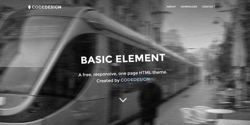 Basic Element (html, bootstrap)