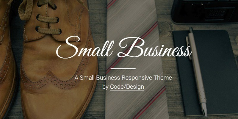 Small Business (html, bootstrap)